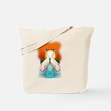 Cute Crane Tote Bag