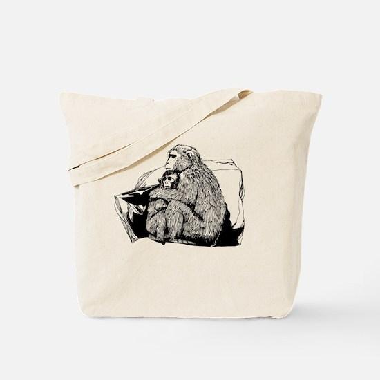 Cute Macaques Tote Bag