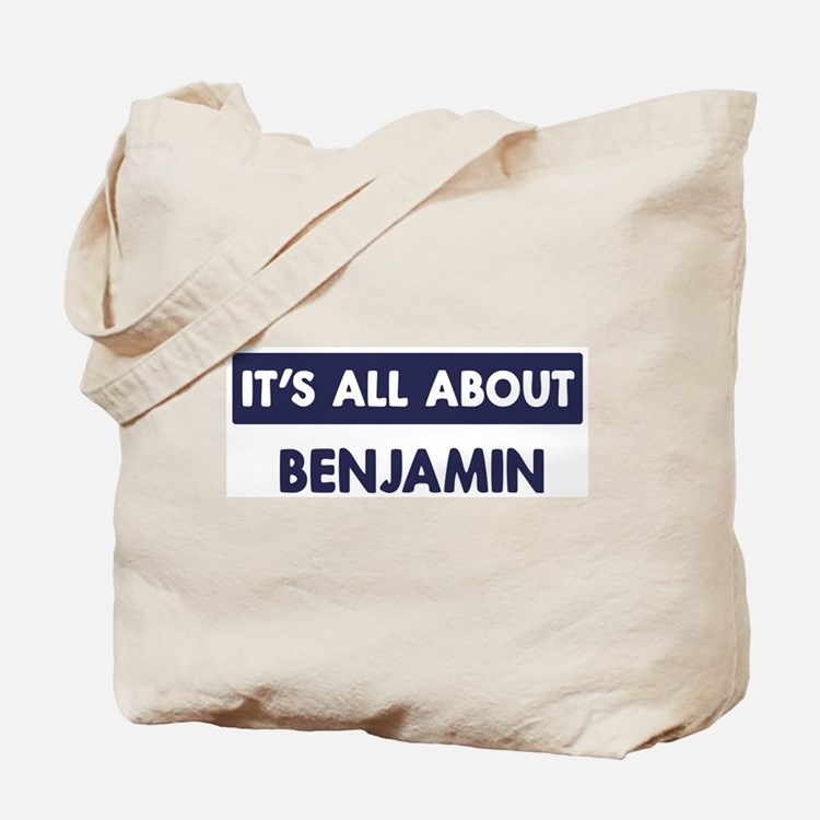 All about BENJAMIN Tote Bag