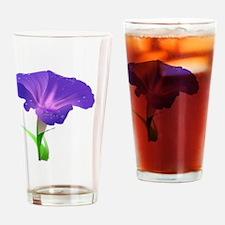 Cute Morning glory Drinking Glass