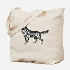 Cute Jackal Tote Bag