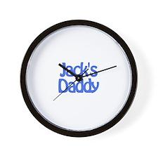 Jack's Daddy Wall Clock