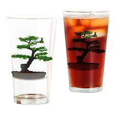 Cute Bonsai trees Drinking Glass