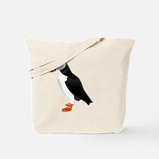 Cute Puffin Tote Bag