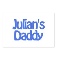 Julian's Daddy Postcards (Package of 8)