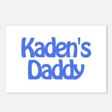 Kaden's Daddy Postcards (Package of 8)