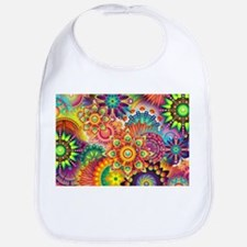 Funky Retro Pattern Abstract Bib