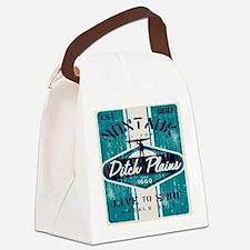 Unique Hampton beach Canvas Lunch Bag