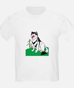 Wolf Smiling T-Shirt