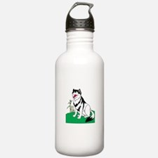Wolf Smiling Water Bottle