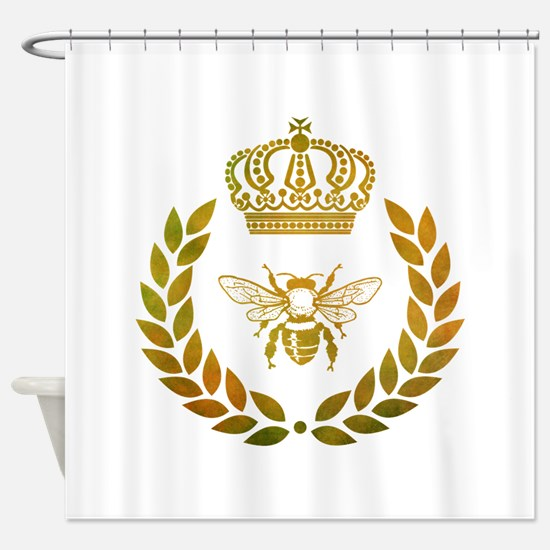 THE FRENCH BEE Shower Curtain