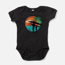Cool Palm Baby Bodysuit