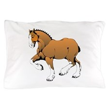 Horse with white legs Pillow Case
