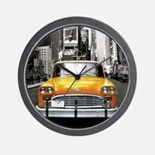 Cute Taxi Wall Clock