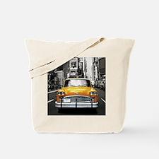 Cute Taxi cabs Tote Bag