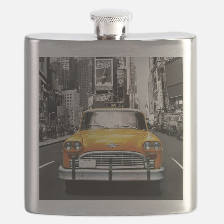 Cute Taxi cab Flask