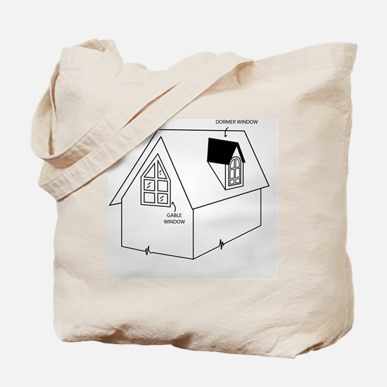 Cute Construction and real estate profession Tote Bag