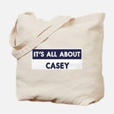 All about CASEY Tote Bag
