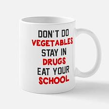 Don't do vegetables Mug