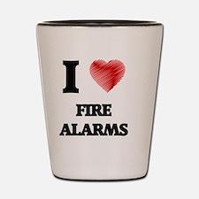 Cute Fire alarm Shot Glass
