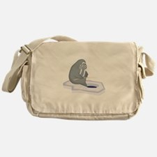 Walrus Fishing Messenger Bag