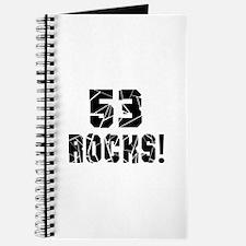 53 Rocks Birthday Designs Journal