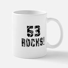 53 Rocks Birthday Designs Mug