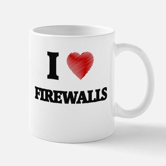 I love Firewalls Mugs