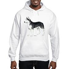 Siberian Husky Dog Hoodie