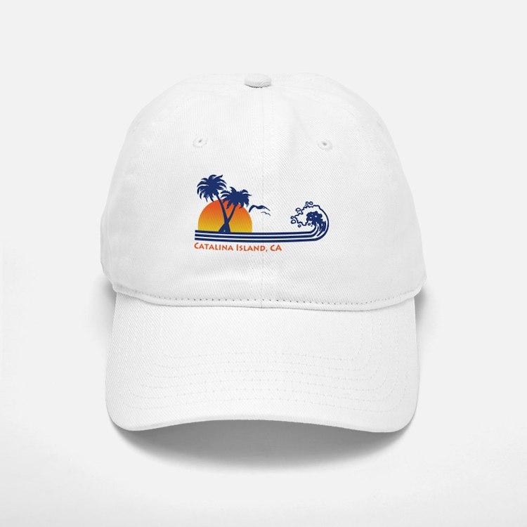 Catalina Island California Baseball Baseball Cap