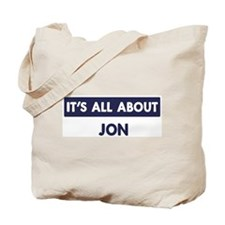 All about JON Tote Bag