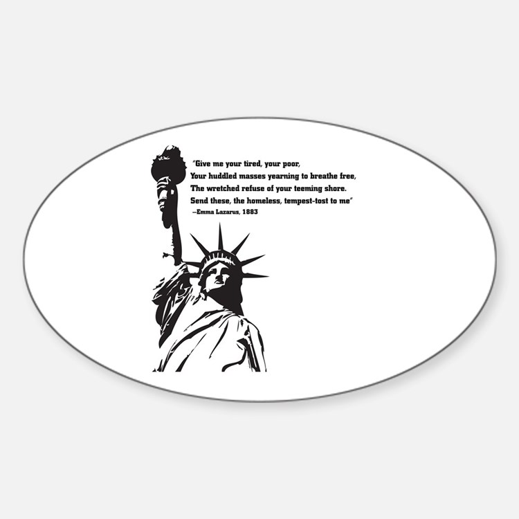 statue of Liberty.jpg Decal