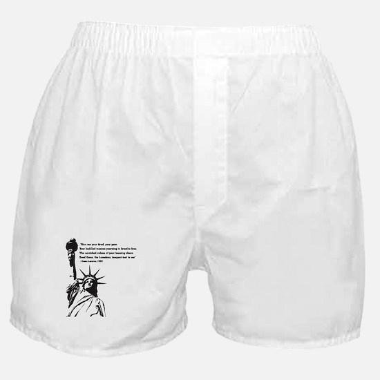 statue of Liberty.jpg Boxer Shorts