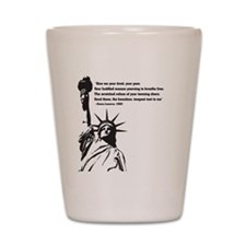 statue of Liberty.jpg Shot Glass