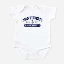 Nantucket Massachusetts Infant Bodysuit