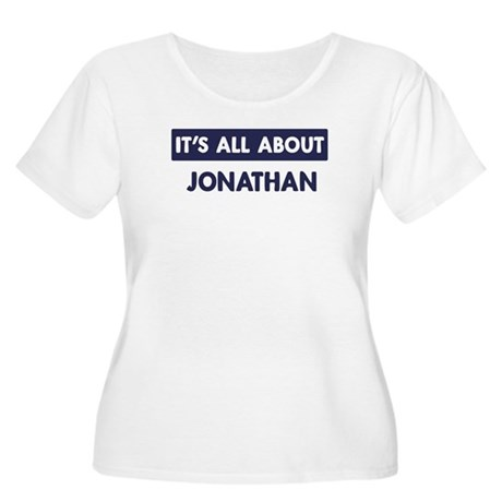 All about JONATHAN Women's Plus Size Scoop Neck T-