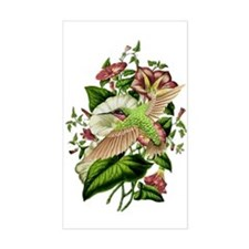 Morning Glory Rectangle Decal