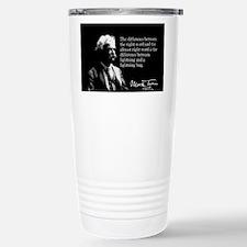 Funny Mark twain Travel Mug