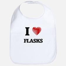 I love Flasks Bib