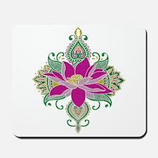 Lotus Mosaic Mousepad