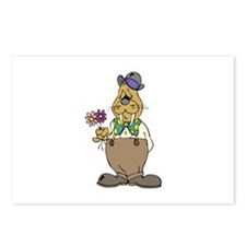 Walrus with Flowers Postcards (Package of 8)