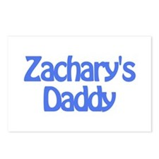 Zachary's Daddy Postcards (Package of 8)