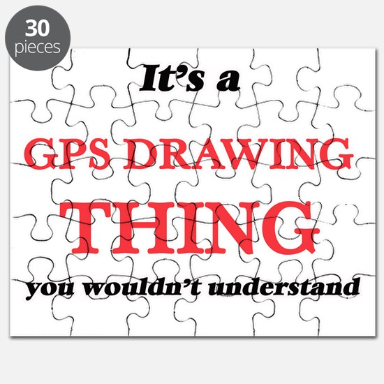 It's a Gps Drawing thing, you wouldn&#3 Puzzle
