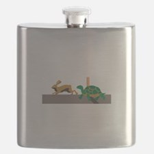 Tortoise and Hare Flask