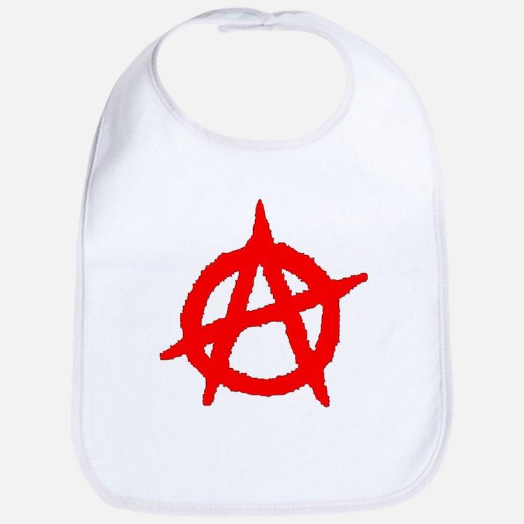 Anarchy Symbol Bib