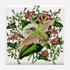 Morning Glory Tile Coaster