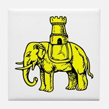 Elephant And Castle Tile Coaster