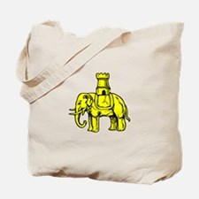 Elephant And Castle Tote Bag