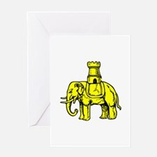 Elephant And Castle Greeting Cards