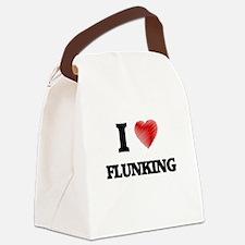 I love Flunking Canvas Lunch Bag